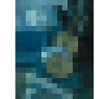 pixel picasso Photographic Print