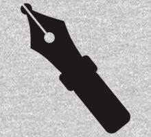 Black pen One Piece - Long Sleeve