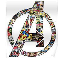 Avengers symbol Poster