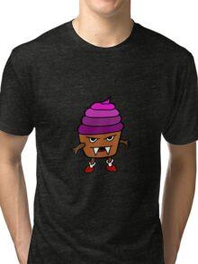 MUFFIN MONSTER Tri-blend T-Shirt