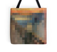 pixel scream Tote Bag