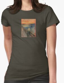 pixel scream Womens Fitted T-Shirt