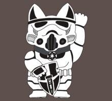 Lucky Trooper Cat One Piece - Short Sleeve