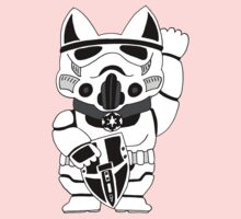 Lucky Trooper Cat One Piece - Short Sleeve