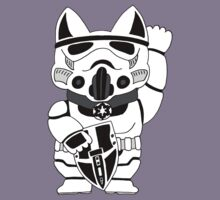 Lucky Trooper Cat Kids Clothes