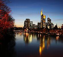 Frankfurt skyline by wise