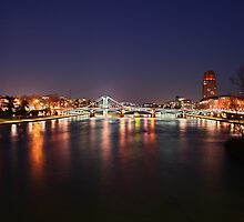 Frankfurt Main view by wise