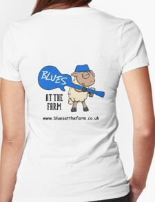 Blues At The Farm - The Bestest Little Blues Club in Essex Womens Fitted T-Shirt