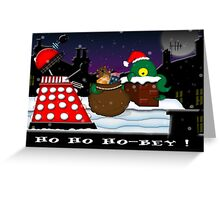 Ho ho ho-bey! Greeting Card