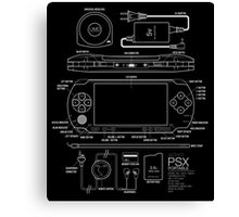 PSX Portable Canvas Print