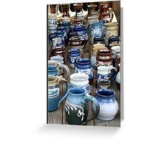 Pottery Greeting Card