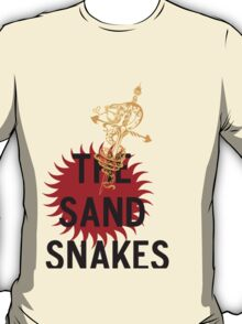 Game of Thrones The Sand Snakes of House Martell T-Shirt