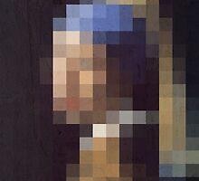 pixel pearl girl by PlayWork