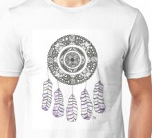 Watercolor and Ink dreamcatcher Unisex T-Shirt