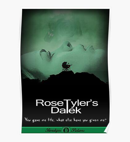 Rose Tyler's Dalek Poster