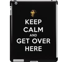 Mortal Kombat - Keep Calm And Get Over Here  iPad Case/Skin