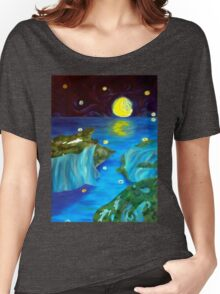 Moonlit seascape Women's Relaxed Fit T-Shirt
