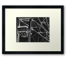Number 6 ( 2 ) Framed Print