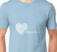 Happiness Squiggle Heart Unisex T-Shirt