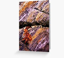 Fissure Greeting Card