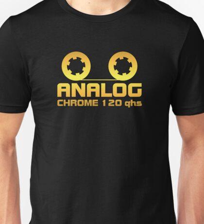 Analog  Chrome Gold Unisex T-Shirt