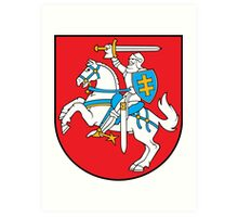 Lithuanian Coat of Arms Art Print