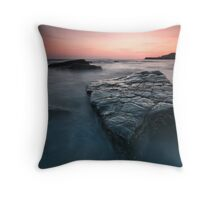 A Sqaure Shiny Rock Throw Pillow
