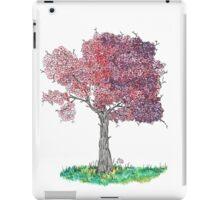 Watercolor Blooming Tree iPad Case/Skin