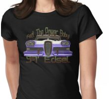57' Edsel Womens Fitted T-Shirt