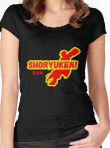 Street Fighter - Ken - Shoryuken Women's Fitted Scoop T-Shirt