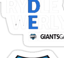 Giants Gaming Sticker