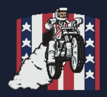 Evel Pixels One Piece - Short Sleeve