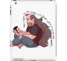 Steven Universe: Greg and Steven  iPad Case/Skin