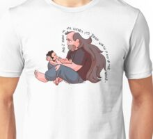 Steven Universe: Greg and Steven  Unisex T-Shirt