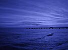 Sea and Pier by Sandy Keeton