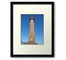 Upper Lighthouse Fleetwood Framed Print