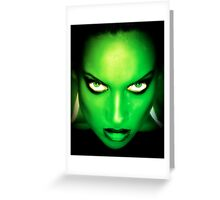 7 Deadly Sins Series: Envy Greeting Card