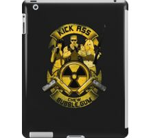 Kick Ass and Chew Bubble Gum! iPad Case/Skin