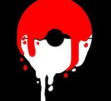 Pokeball Melt by CrazyTigerLady