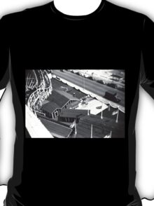 """""""The Cyclone"""" Roller Coaster, Revere Beach - Cottage T-Shirt"""