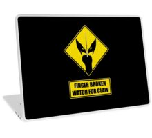 Watch for claw V.1 Laptop Skin