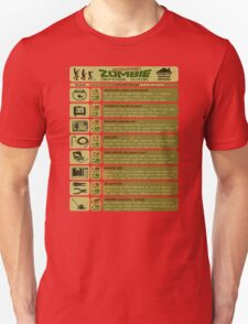 Zombie Defense Guide T-Shirt