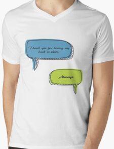 Caskett Mens V-Neck T-Shirt