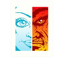 Good and Evil Art Print