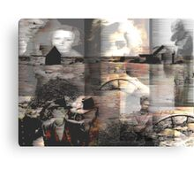 Dust in the wind: a compilation of faces from the Dust bowl. Canvas Print