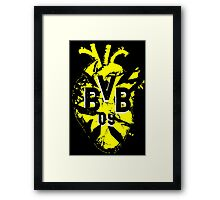 Borussia Heart Broken Framed Print