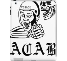 all cops iPad Case/Skin