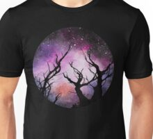 space (trees) Unisex T-Shirt