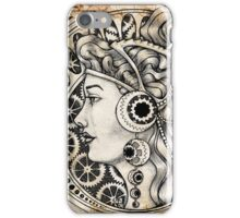 Our Lady of the Gears iPhone Case/Skin