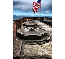 on top of Fort Point Photographic Print